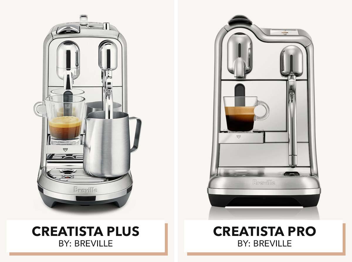 Nespresso Creatista machines.