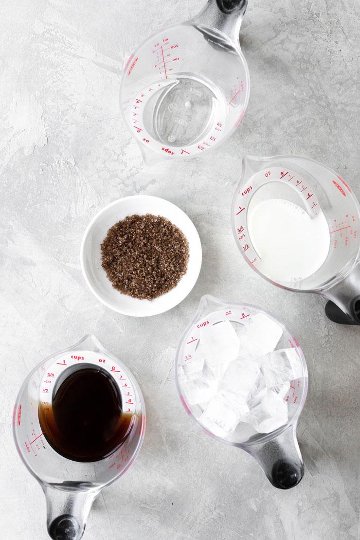 Brown Sugar Iced Coffee Ingredients