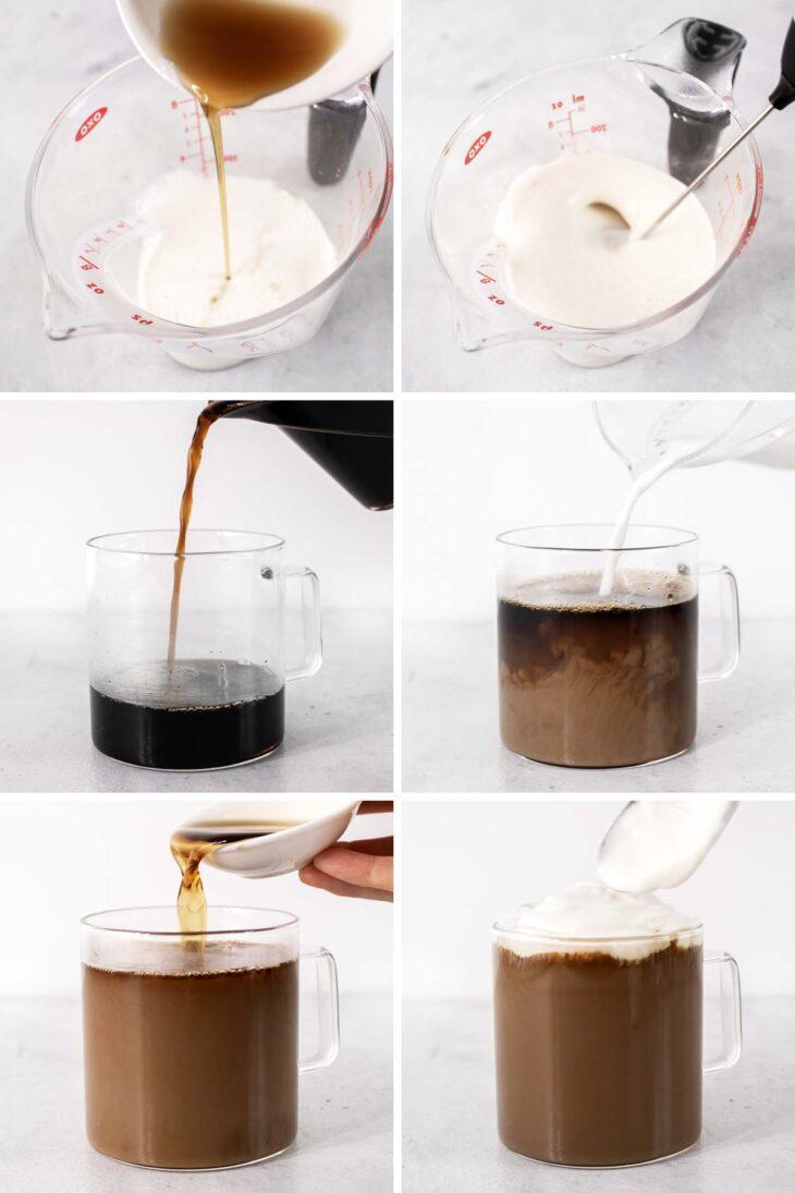 Cinnamon Dolce Latte ingredients.