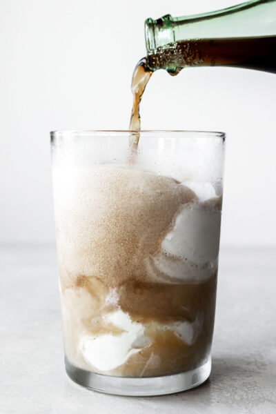 Cold Brew Coffee Coke Float