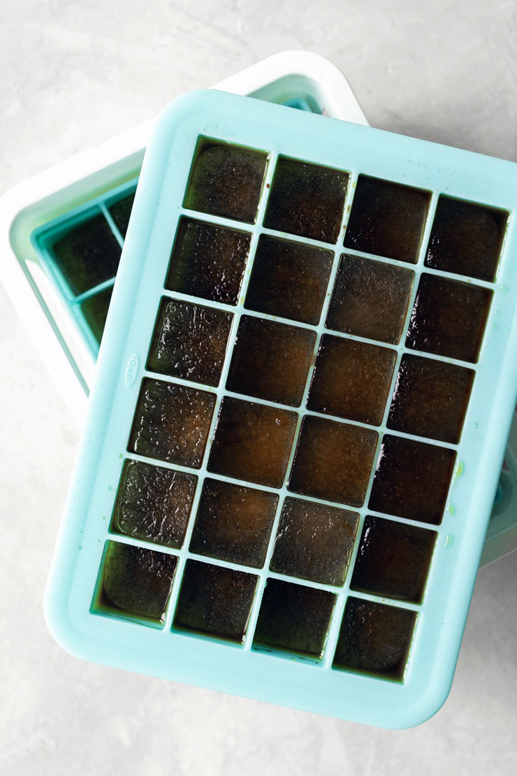 Easy Coffee Ice Cubes