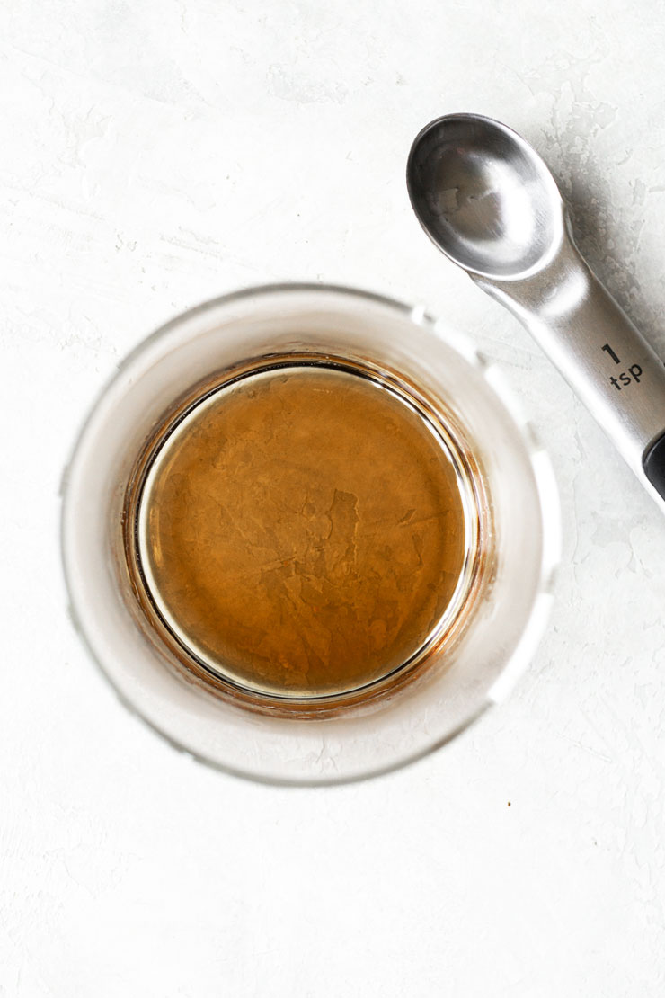 Simple syrup for coffee