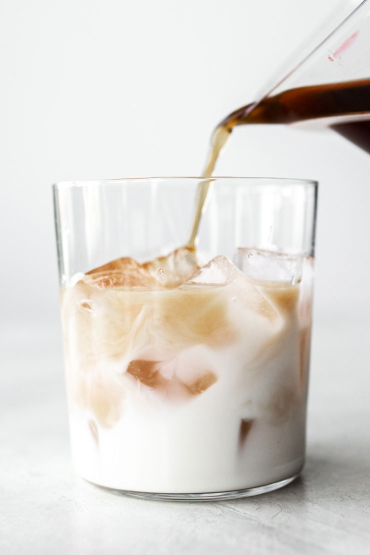 Cold Brew Layered Latte
