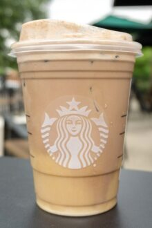 Starbucks Cookies and Cream Cold Brew