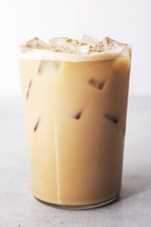Iced Honey Oatmilk Latte