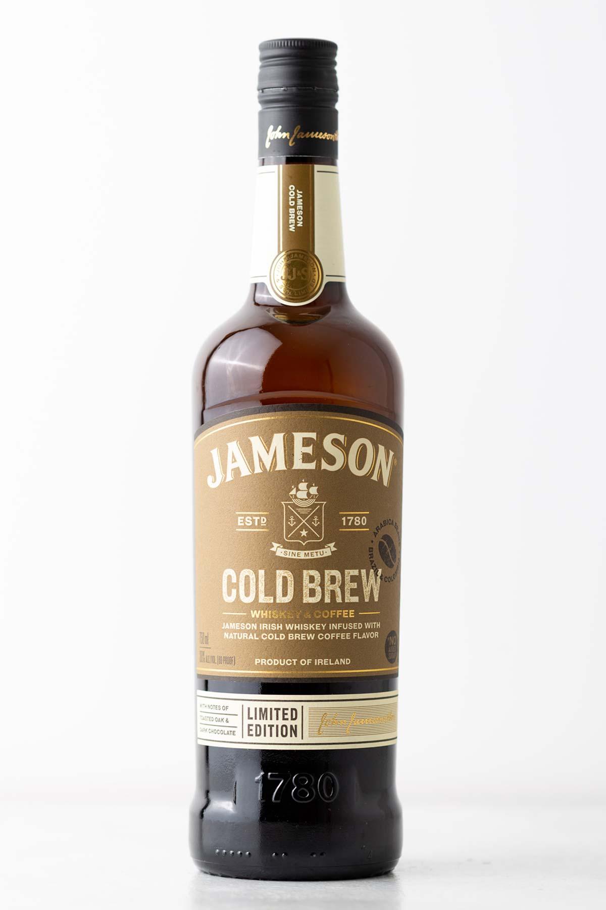 Jameson Cold Brew Irish Whiskey bottle.