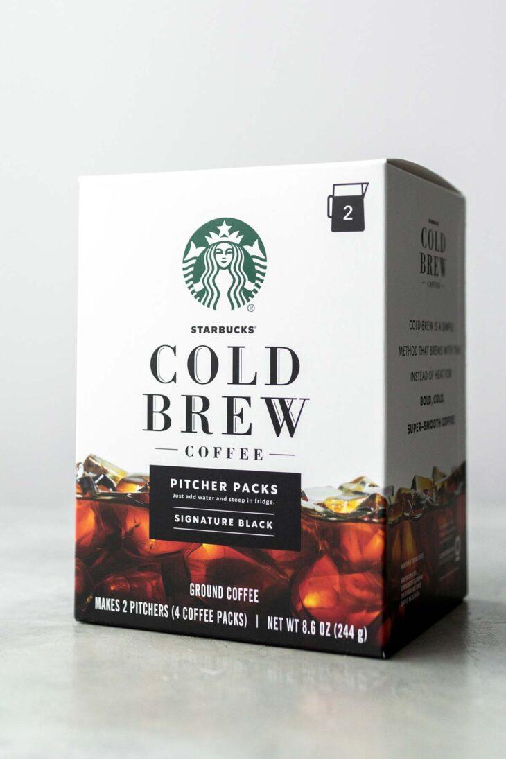 Starbucks Cold Brew Pitcher Pack Box