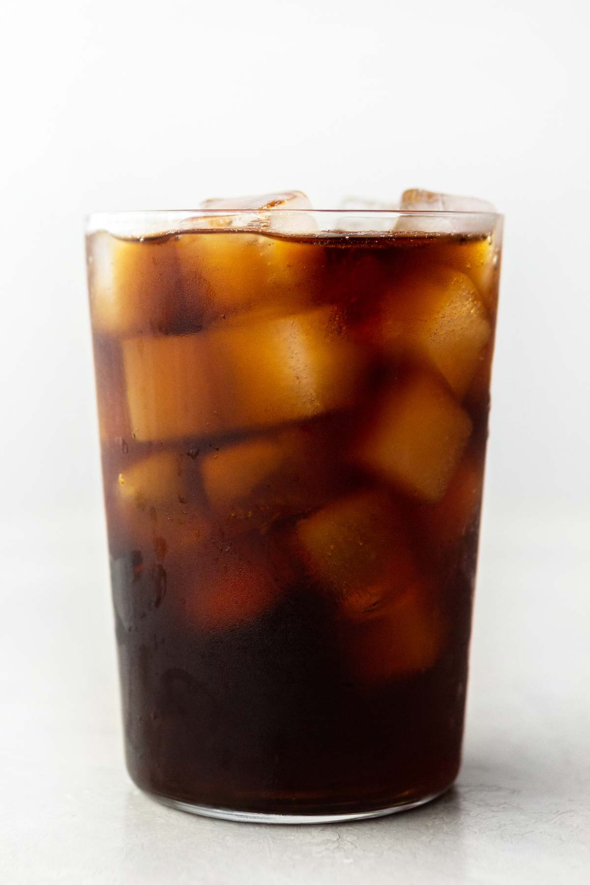 Starbucks Cold Brew Coffee in a cup with ice.
