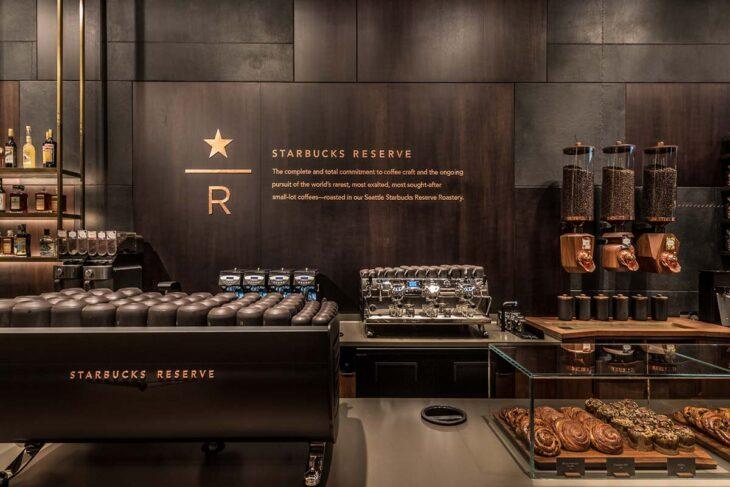 Starbucks Reserve interior.
