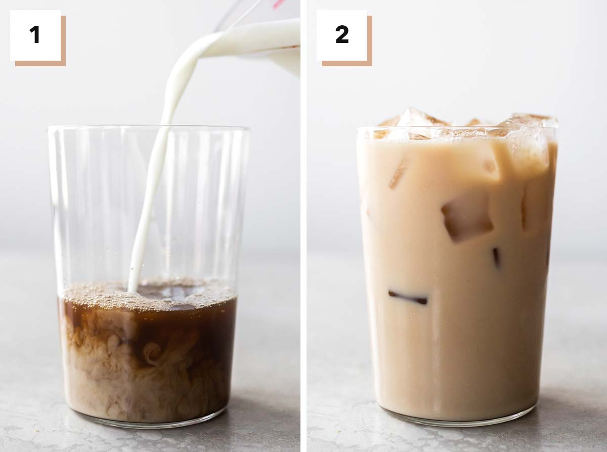 Steps to make Starbucks Iced Chai Tea Latte copycat recipe.
