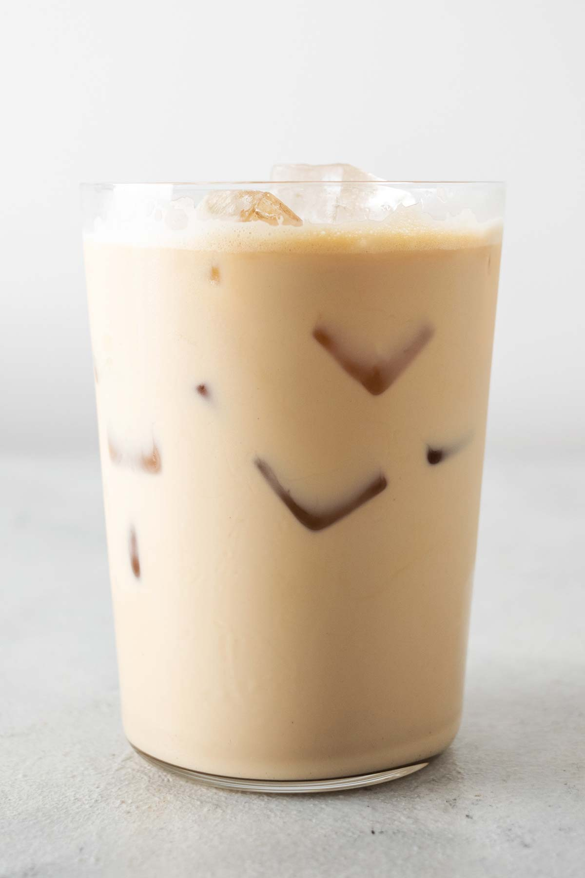 Iced Latte in a cup.
